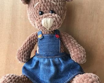 Amigurumi bear, Teddy bear, plush toy