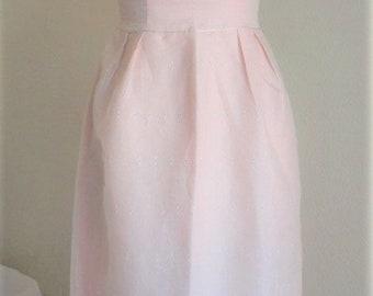 60's, 1960's Pink Formal, 60's Dress,