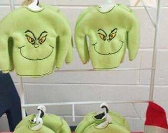 Elf grinch sweaters