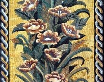 The Gothic Tulip Mosaic Design