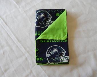 Seattle Seahawks Baby Burp Cloth