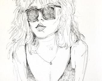 Debbie - Print