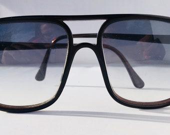 Lozza Zilo vintage black  sunglasses, 1980, NOS