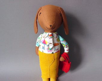 Dachshund  - H.P. 22 Dog Plush Toy stuffed Doll Plushie Softie