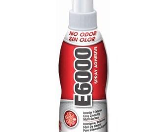 E6000 Spray Adhesive, 4 OZ bottle
