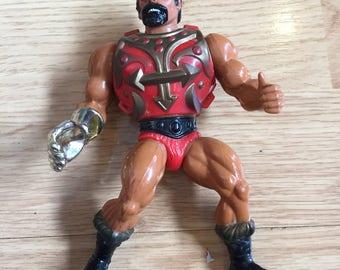 Jitsu He-Man Masters Of The Universe Action Figure 1983 MOTU Loose Action figure, Vintage Rare HE-man figure