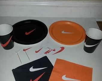 Swoosh party supplies