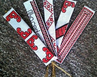 Cross stitch bookmarkers