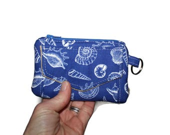 ID Wallet, ID Key Chain Wallet, Mini Wallet, Id Holder, Credit Card Pocket, Key Chain Wallet, Small Fabric Wallet, Lanyard ID Hold