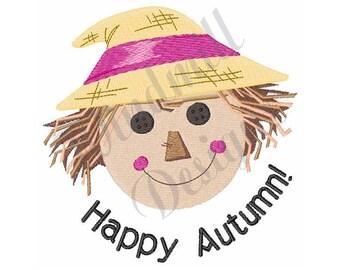Scarecrow Autumn - Machine Embroidery Design
