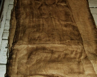 PRIMITIVE GRUNGY CHEESECLOTH