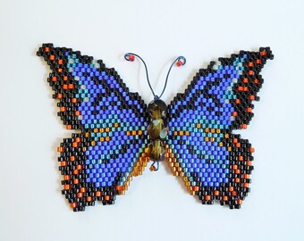 Blue Morpho Butterfly  Pattern and Tutorial