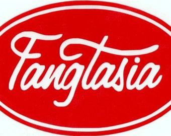 Fangtasia True Blood Vinyl Decal Sticker