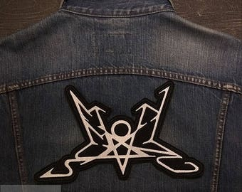 Big Back Patch Summoning  Logo Black Metal Band