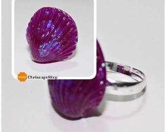 Resin ring ' shell '