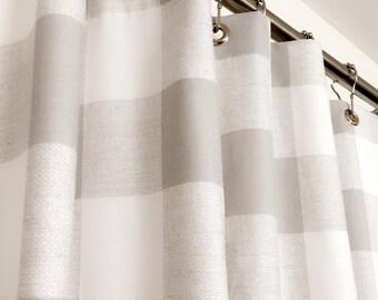 Long Shower Curtain Etsy