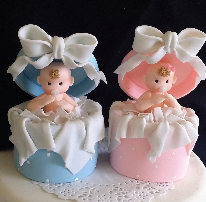 Baby Girl Cake Topper Baby Boy Cake Topper Baby Shower Cake