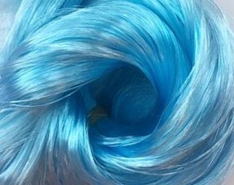 Blue Glacier Kiwi Nylon Doll Hair