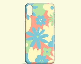 Pastel Floral mobile phone case / iPhone X / summer iPhone 8 / iPhone 7 / iPhone 7 Plus / iPhone SE / iPhone 6S / iPhone 6 / iPhone 5/5S
