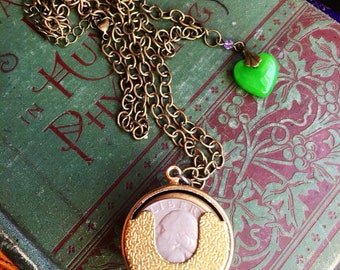 Victorian Money Keeper Pendent Neclace
