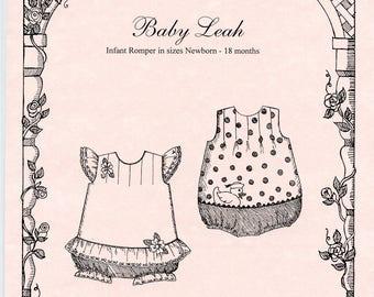 Romper Pattern /  Bubble pattern / Baby Girls / Snap Crotch / Baby Leah / by Primrose Lane