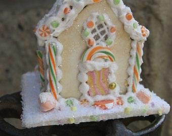 Miniature Sugar Cookie House 12th Scale