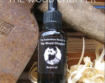 The Wood Chopper - beard oil - The Audacious Beard Co