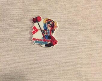 Harley Quinn resin