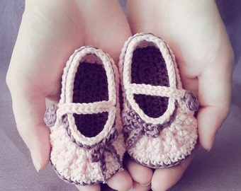 Little ballerina slippers Pattern