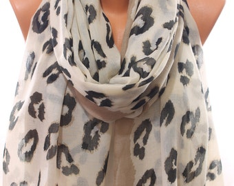 Animal Print Leopard So Soft Lightweight Spring Summer Scarf Women's Fashion Accessories Scarves Mother's Day Easter Gift Ideas For Her
