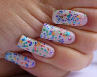 Starlite Shine Hand made custom nail polish from Glimmer by Erica