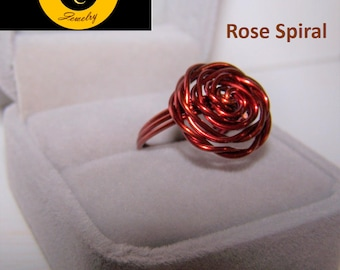 Handcrafted Copper Rings by Celtic Creek Jewelry