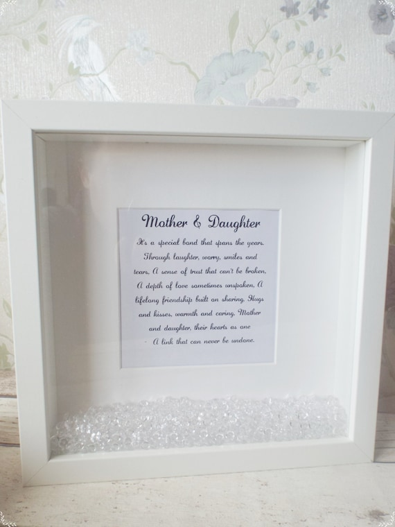 Mother & Daughter frame, Gift for daughter, Gift for Mother, Gift ...