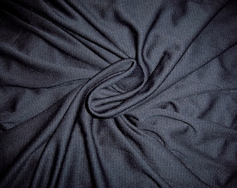 Recycled Polyester Performance Activewear Knit Fabric Moisture Wicking 2.5 yds