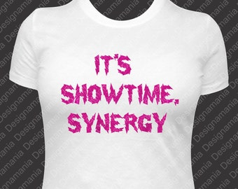 80s Jem Showtime, Synergy Tank or T shirt - Electrifying lightning glamour glitter fortune and fame