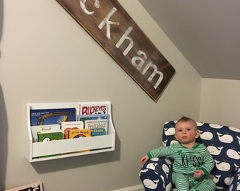 Name Sign: Nursery or Child's Room