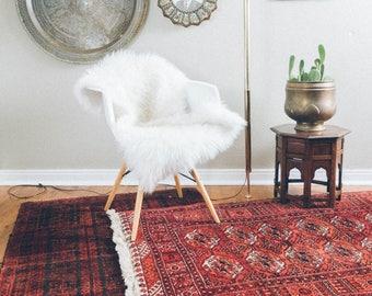 2.5x7 Vintage Bokhara Carpet