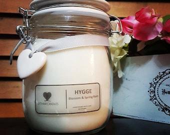 Hygge Lytham Candle, Blossom & Spring Rain