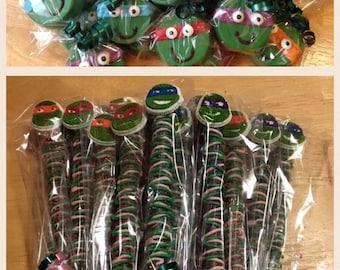 Teenage Mutanr Nina Turtle package