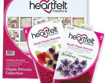Heartfelt Creations Classic Petunia Creative Essentials HCCE1-624