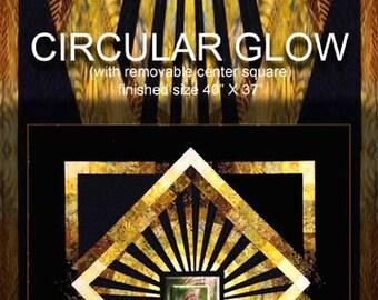 Circular Glow Quilt Pattern
