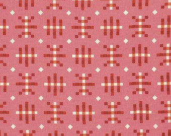 """PWAH080 Anna Maria Horner Honor Roll Misguided Gingham Strawberry Quilting 18"""" BTHY Rowan Westminster Half Yard 18"""" Quilt Fabric HY Floral"""