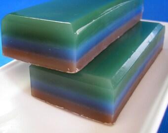 Soap for Men,  Spellbound Woods, Man Soap,  Sandalwood, Amber, Vanilla, Vegan Soap, Fathers Day Soap, Glycerin Soap, Men Soap