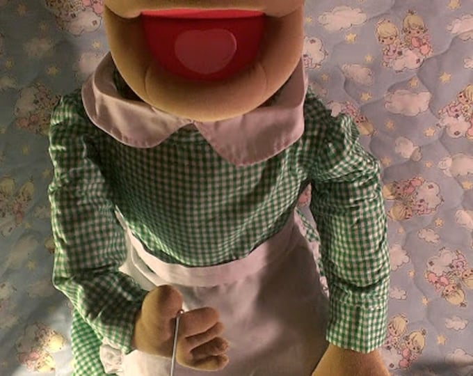"""Grandma Puppet - Large 30"""" Full or Half Body Arm Rod Puppet for Professional Puppetry by Puppets for JESUS  Granny"""