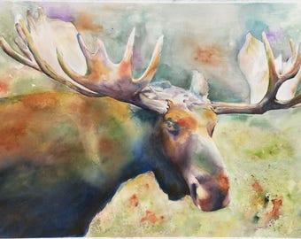Moose Print - You Talken to Me?