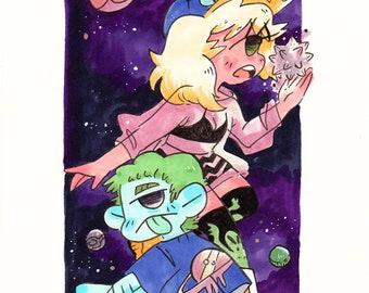 Bleep Bloop Alien Kids