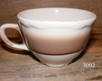 Vintage Homer Laughlin Coffee Cup Resturant Ware