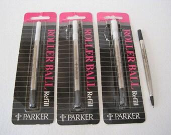 Parker Rollerball Refills - lot of 4