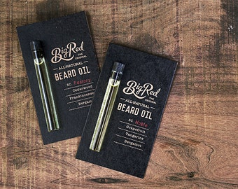 Big Red Beard Oil Sampler