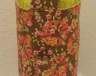Padded Single Wine Tote with pocket